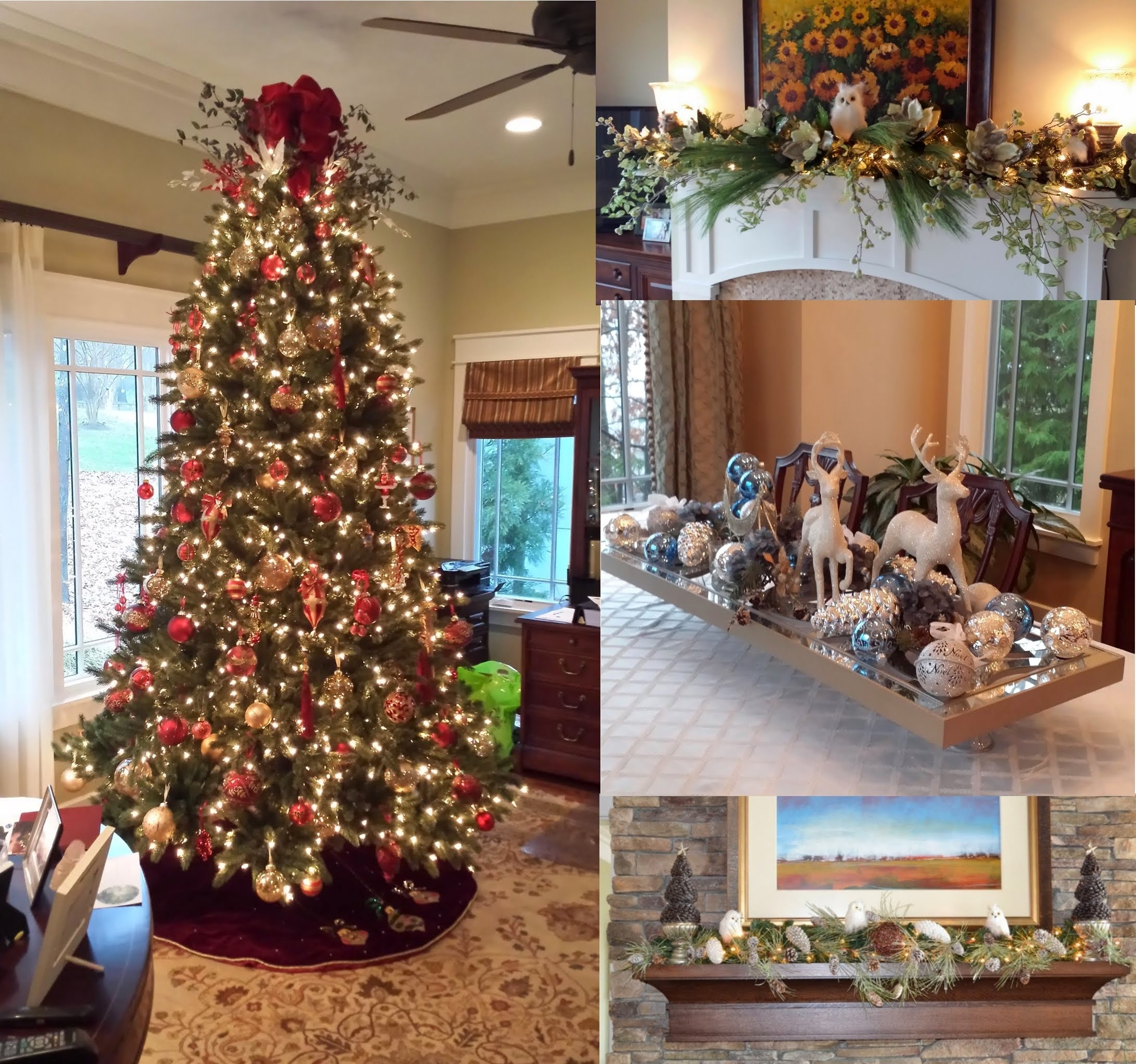 charlotte nc residential home holiday event decorating real estate home staging interior room redesign interior design services charlotte nc