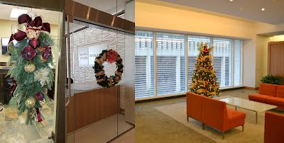 Commercial Corporate Office Holiday Decorating