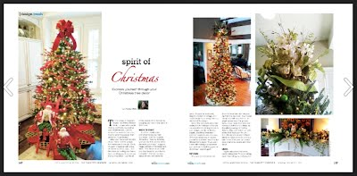 Christmas Article featuring - Redesign + More Holiday Decorating